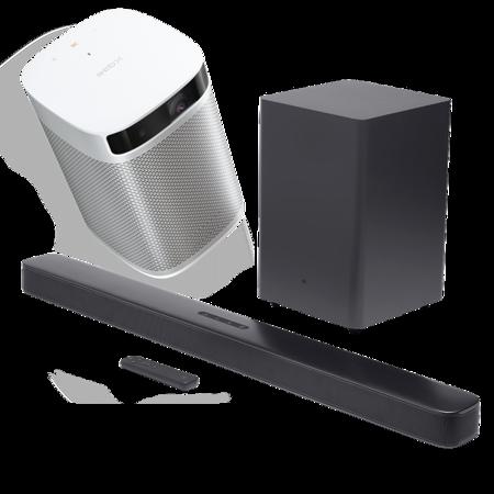Zestaw kina domowego XGIMI MoGo Pro + JBL 2.1 Deep Bass
